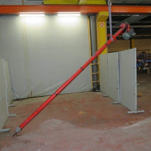 R4S1073 Vis acier sous tube 4100 mm