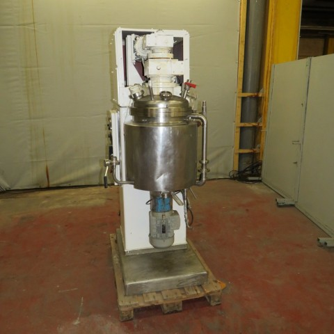 R6ME6365 MORITZ homogenizer vacuum mixer 50 liters double jacket