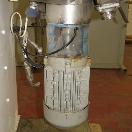 R6ME6365 MORITZ homogenizer vacuum mixer  50 liters double jacket