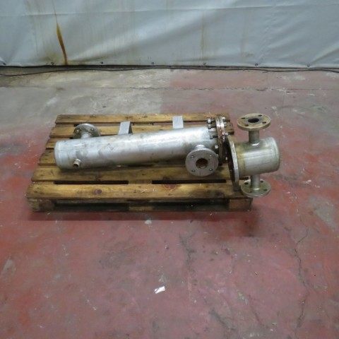 Stainless steel CIAT tubes exchanger