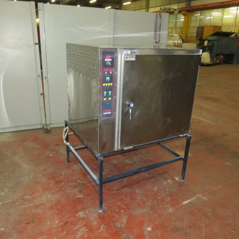 R1L1137  Stainless steel TRICAULT electric oven type TURBO 240.X