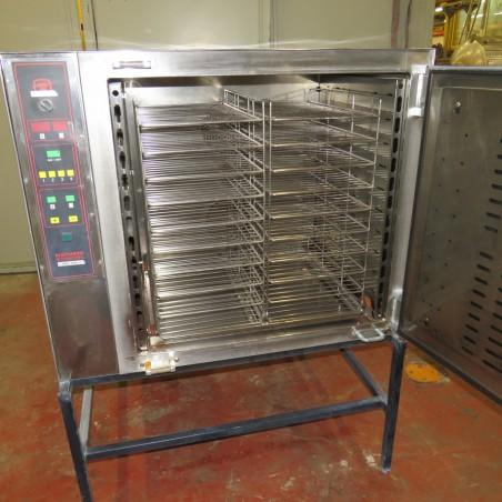 R1L1137   Four électrique TRICAULT type TURBO 240.X en inox alimentation 380 v + neutre