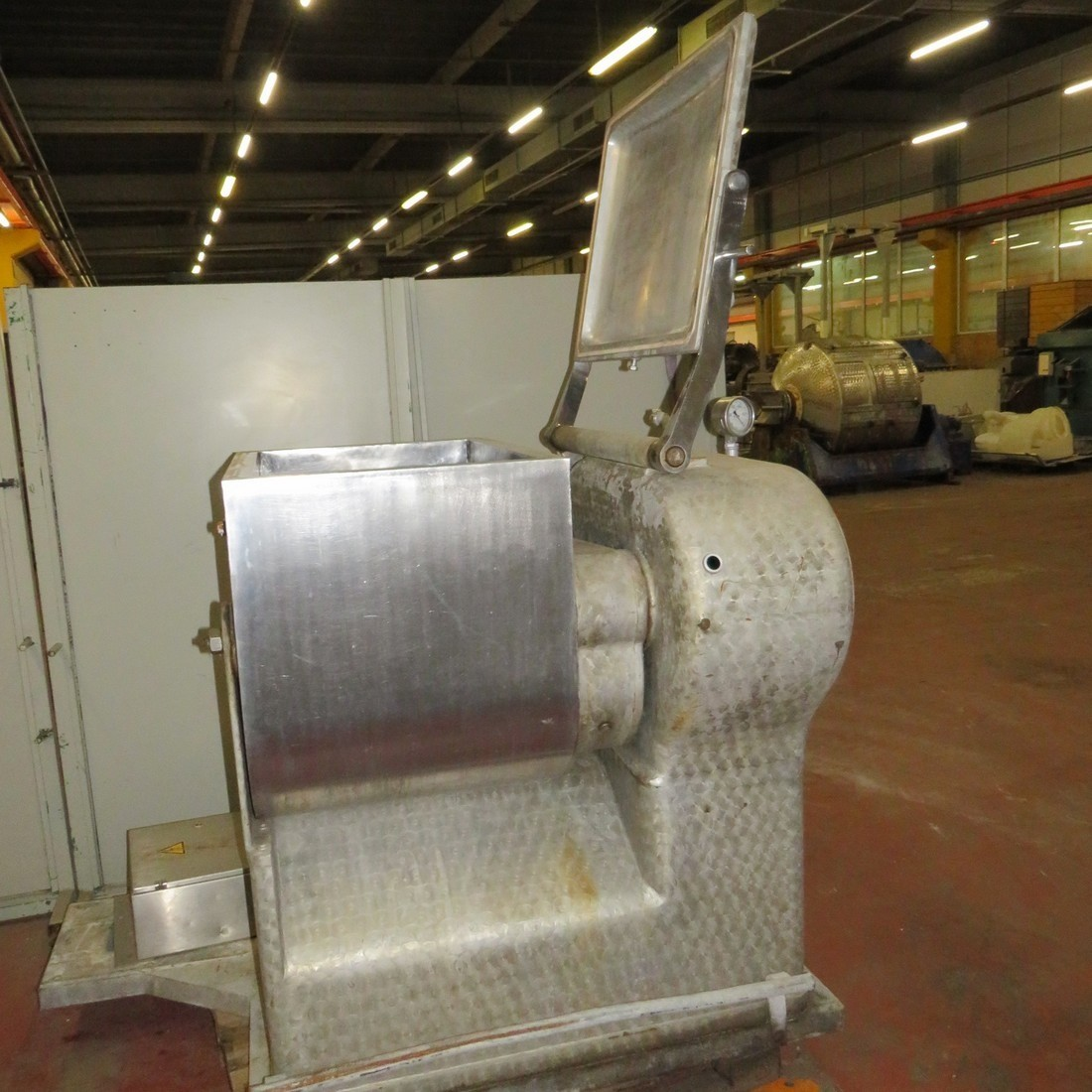 R6MD1208  Stainless steel LASKA double mixer MEV 250 type