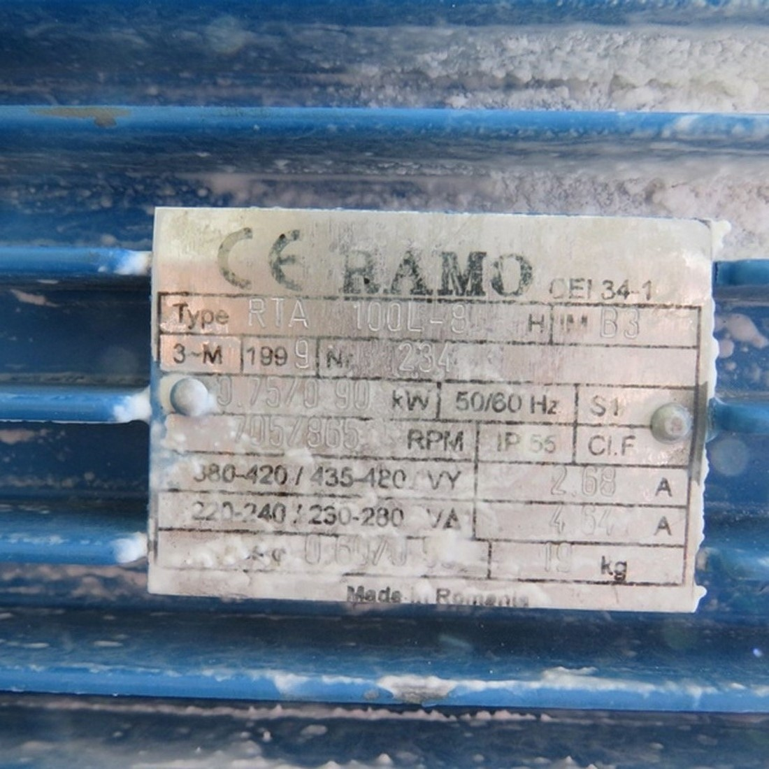 R6MA6119 Stainless steel electric melter