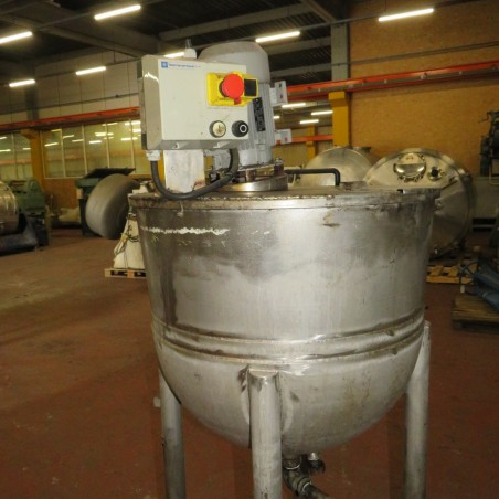 R6MA6120 Stainless steel mixing tank