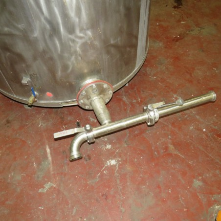R6MA6121  Stainless steel mixing tank