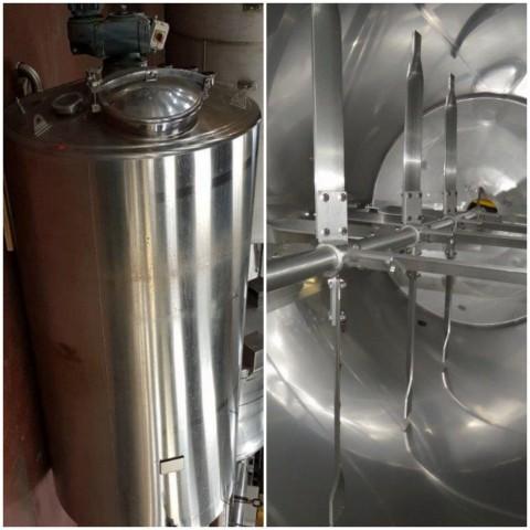 R6MA6122 Cuve mélangeuse inox isolée