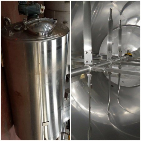 R6MA6122 Stainless steel isolated  mixing tank