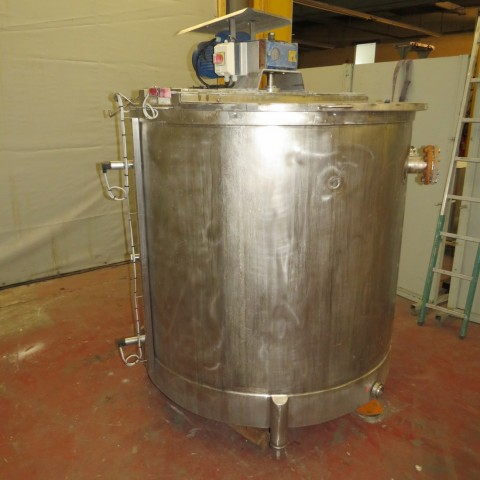 R6MA6123 Stainless steel mixing tank