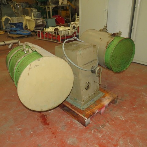 R6MC984 Rotary mixer for 2 barrels of 200 litres