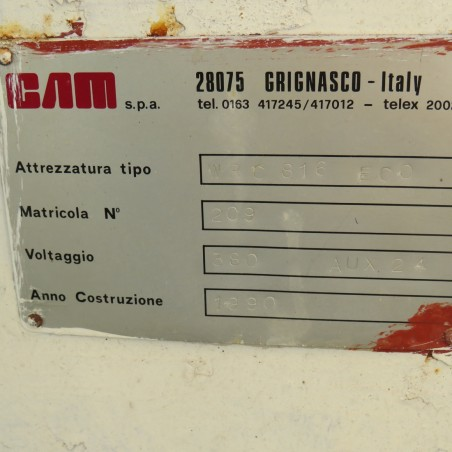 R11L1255  CAM Packaging equipment WCR 816 type