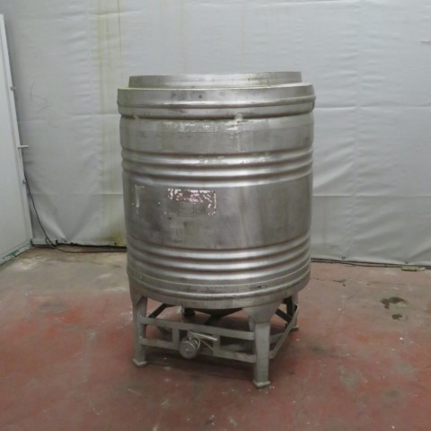 R11CB171  Container cylindrique inox 800 litres