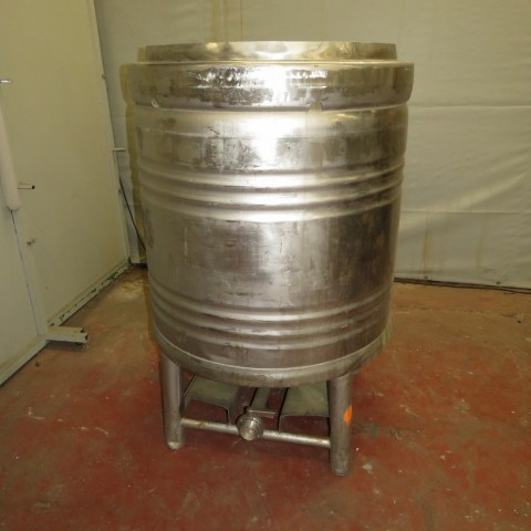 R11CB172 Stainless steel EUROCONT cylindrical container 800 litres
