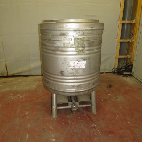 R11CB174 Stainless steel STOCKLIN cylindrical container 800 litres