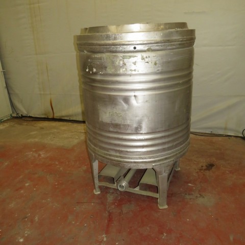 R11CB175 Container cylindrique inox SIAS 800 litres