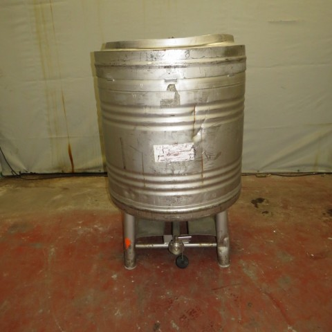 R11CB177 Stainless steel cylindrical container 800 litres