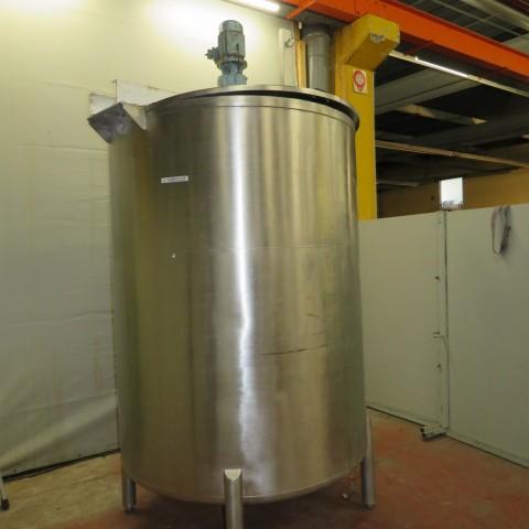 R6MA6127  Cuve mélangeuse inox OLSA 4000 litres