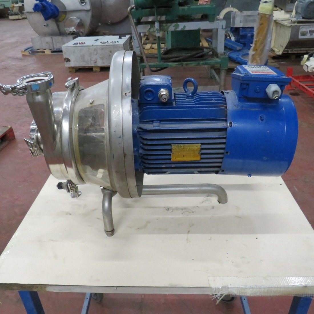 Stainless Steel Inoxpa Centrifugal Pump S 35 F Type