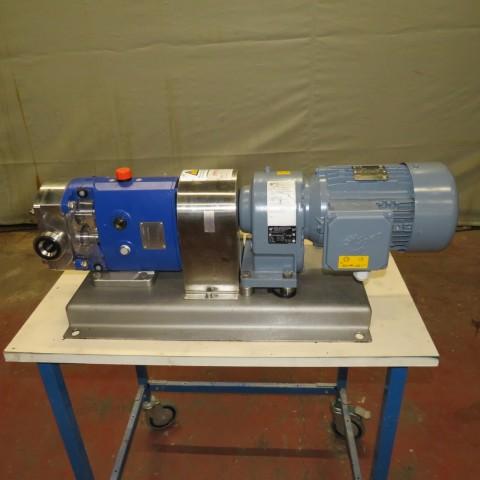 R10DE842  Stainless steel ALFA-LAVAL gear wheel pump SRU2/013/LS type