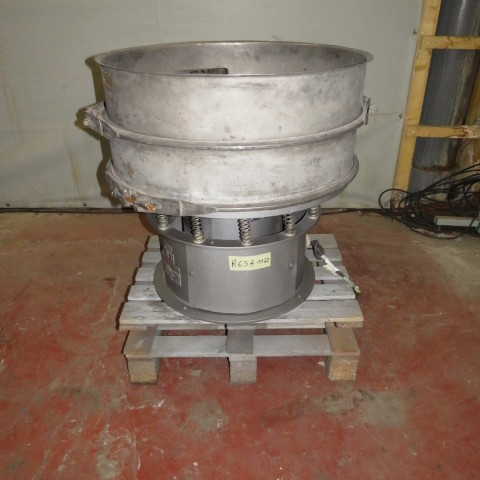 Stainless steel SWECO circular sieve S30S type