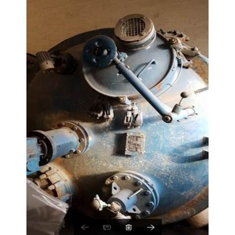 R11DC1003  Cuve émaillée DE DIETRICH type RFD-8126 litres Matériel visible sur rendez-vous