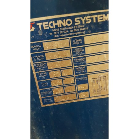 R1KP741  TECHNO-SYSTEM plates exchanger TSC 910 type