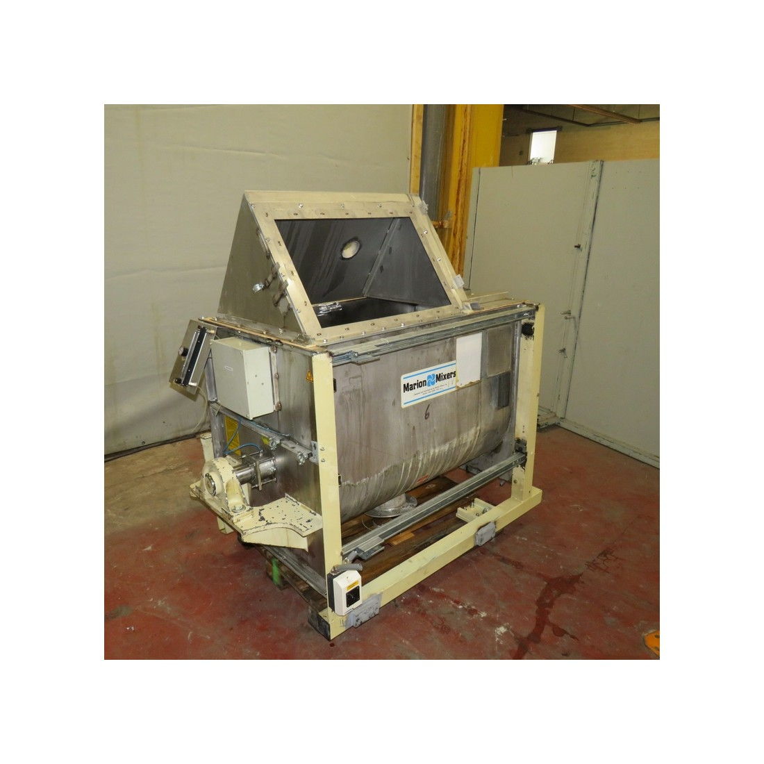 MARION MIXERS - Paddle mixer - R6ME6371 - Stainless steel paddle mixer 430 liters