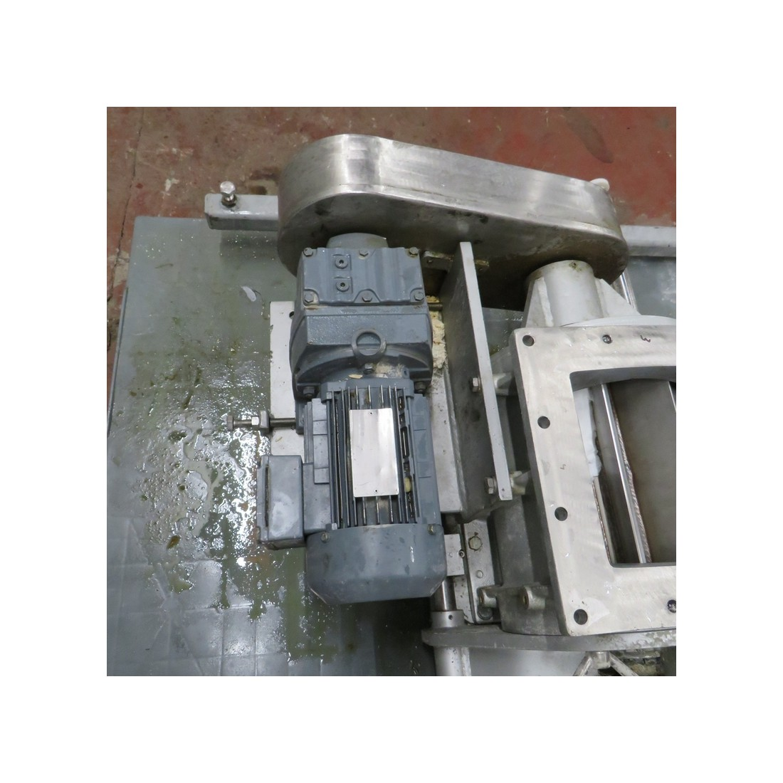R6P824 - Stainless steel Rotary valve ACETT - opening : 195 x 200 mm