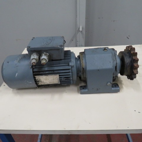 R12MA2766  Geared motor SEW-USOCOME with brake  - Hp 0.75 / 1.2 - Rpm 33 and 64