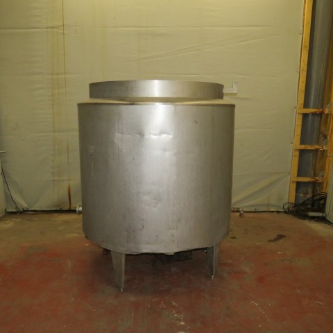 R6MA6129  Stainless steel Mixing tank 1000 litres double jacket