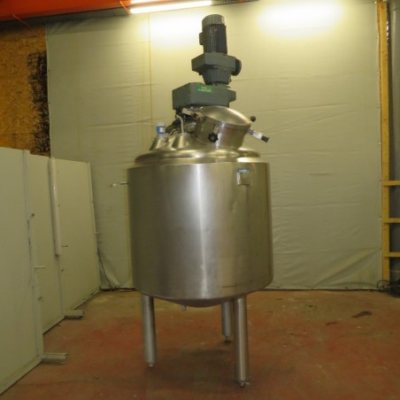R6MA6131  Stainless steel APPARATE UND BEHALTER mixing tank 985 litres