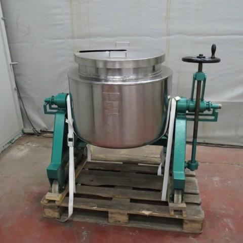 R11DB22647  Fondoir BIONAZ 150 litres en inox