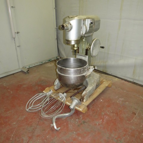 R6MP109  Stainless steel HOBART planetary mixer PF601 type 60 litres