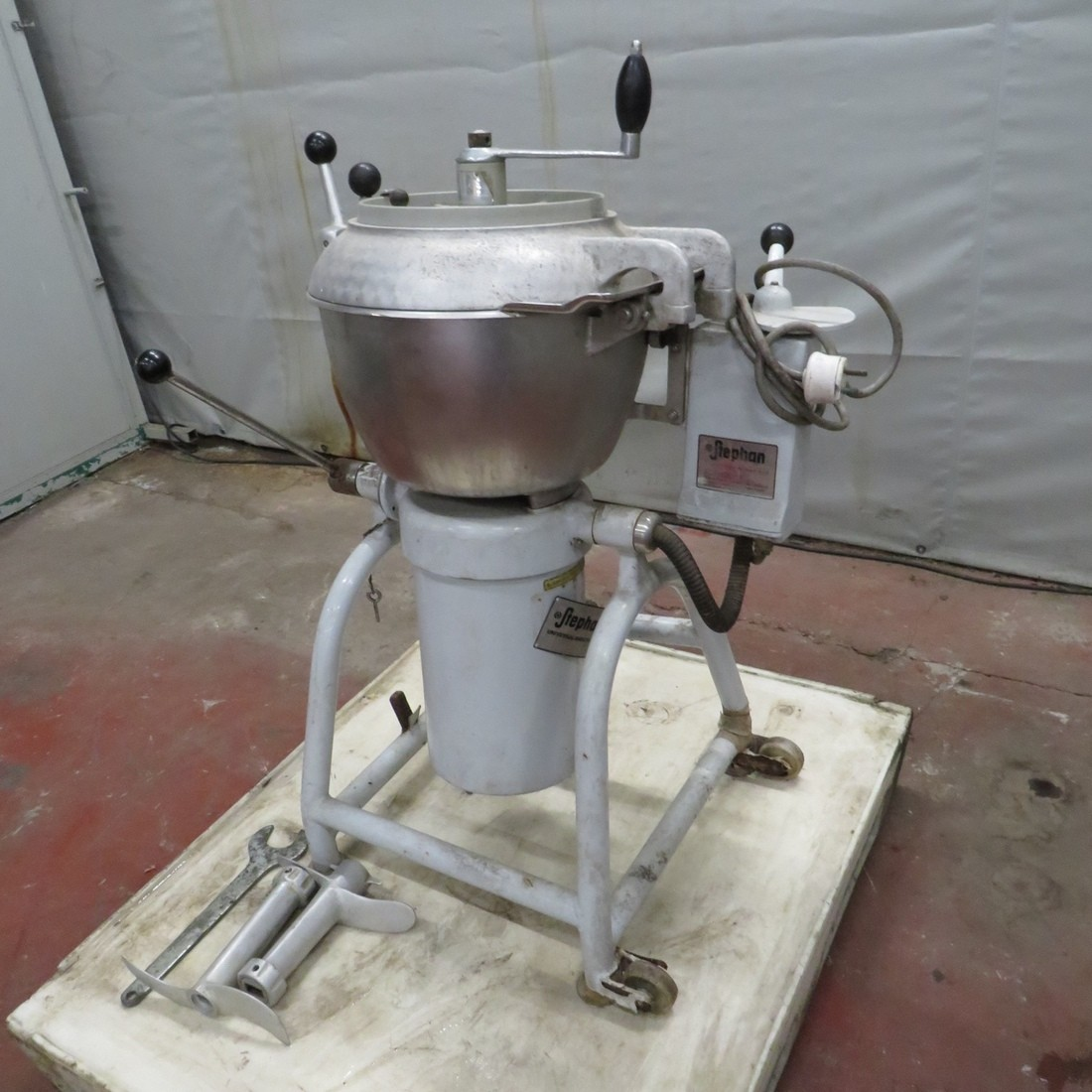 R6ME6373  Stainless steel STEPHAN Mixer cutter UM25/3 type