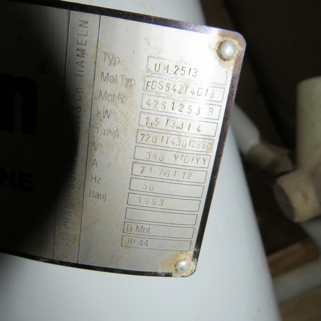 m u00e9langeur cutter stephan type um25  3
