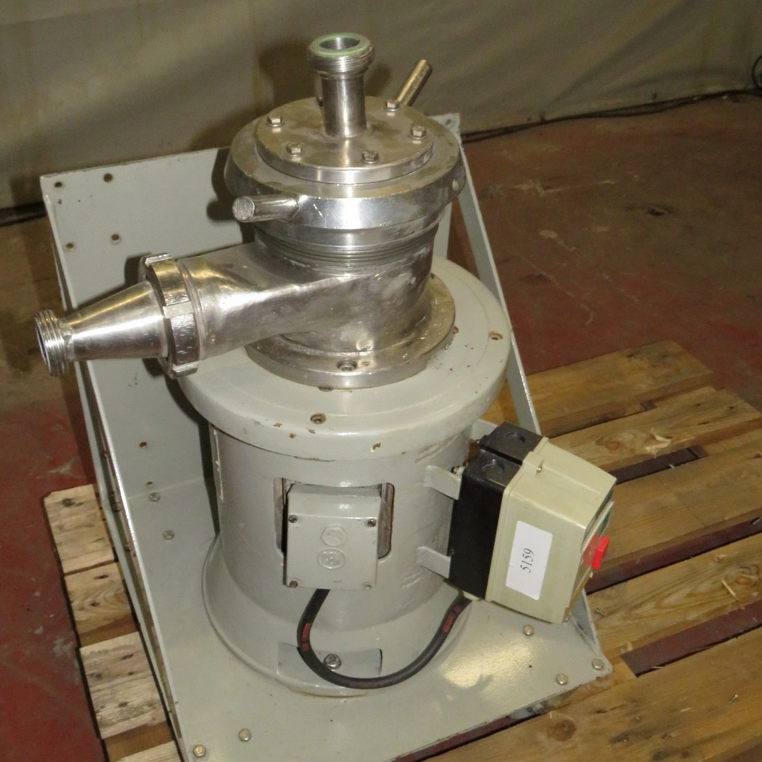 R6BH856  Colloid mill rpm 3000