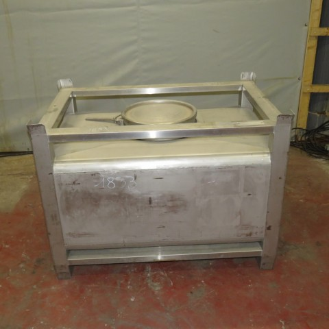 R11CB179 SONECO stainless steel container CLCR type 500 litres