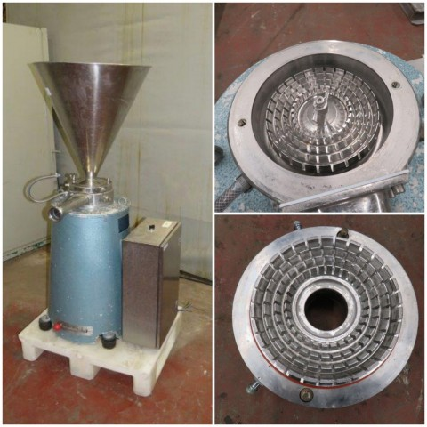 R6BH857 Stainless steel Crusher homogenizer 50 litres