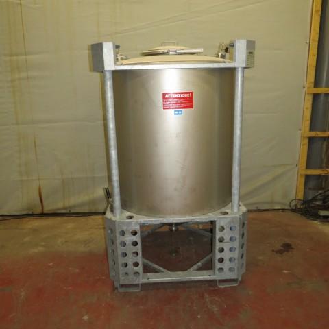 R11CB180  Container AZZINI inox 316 L type PLV 1150 - 1150 litres