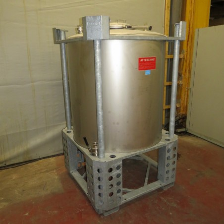 R11CB180   Stainless steel 316 L AZZINI container PLV1150 type 1150 litres