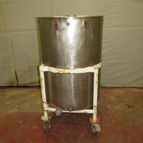 R11DB22650  Stainless steel vessel 500 litres
