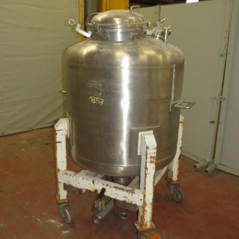 R11DB22656  Stainless steel LAMAINOX tank 640 litres