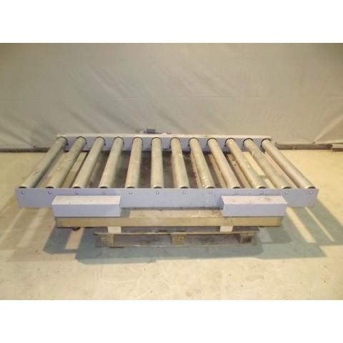R4FC829  Steel roller conveyor 1200 mm x 2000 mm