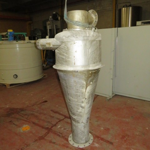 R1J1165 Cyclone inox hauteur 1300 mm
