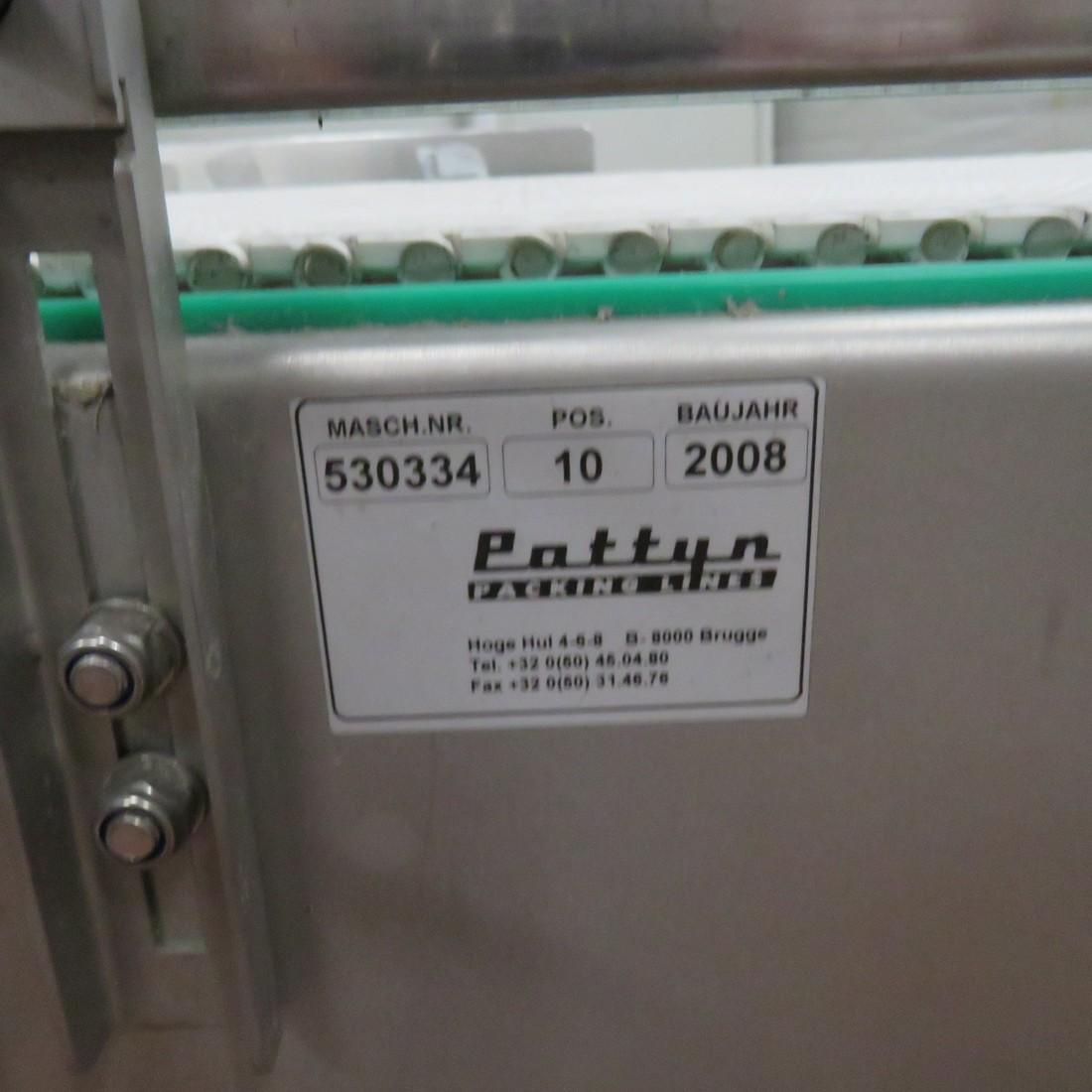 R4FB1165 Stainless steel PATTYN Belt conveyor