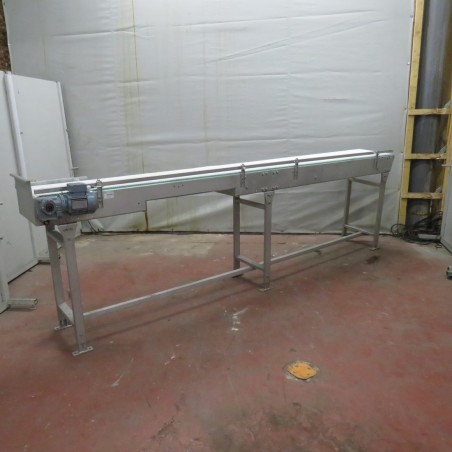 R4FB1165 Stainless steel PATTYN Belt conveyor width 450 mm