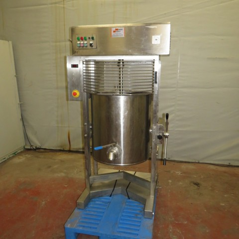 R6MA6133 Stainless steel ALIMAT TREMBLAY electric melter model 140 E . 130 litres