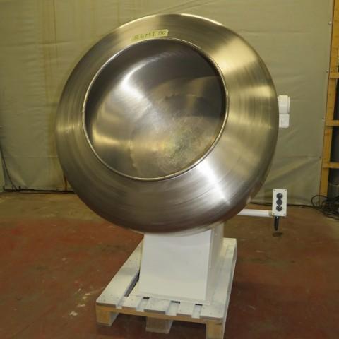 R6MT80 Turbine à dragéifier DUMOULIN inox