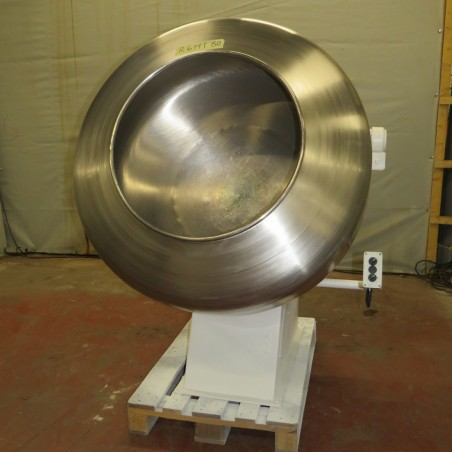 R6MT80 Stainless steel DUMOULIN Coating pan