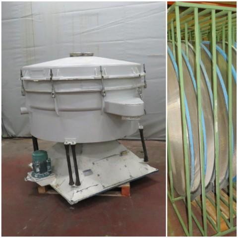 R6SA1130  Tamiseur acier HERBOLD type TSM 1600 2 étages diam 1580 mm